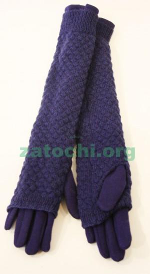 Перчатки женские шерсть